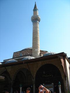 Mevlana - zielony meczet.