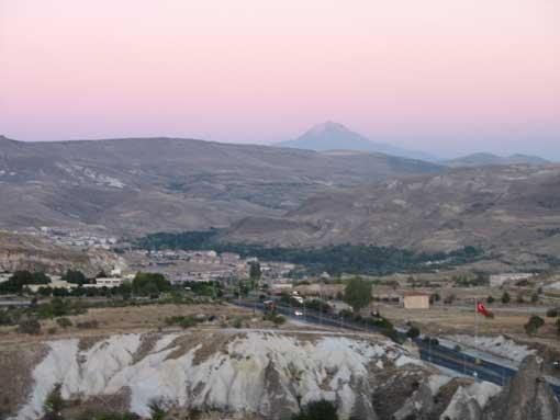 Uśpiony wulkan Erciyes.
