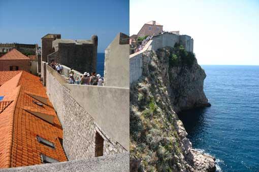Dubrovnik - wąskie uliczki.