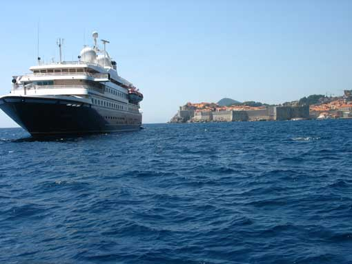Dubrovnik - główna ulica.