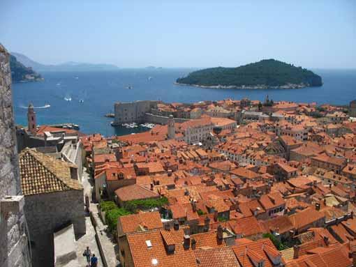 Dubrovnik - panorama miasta.